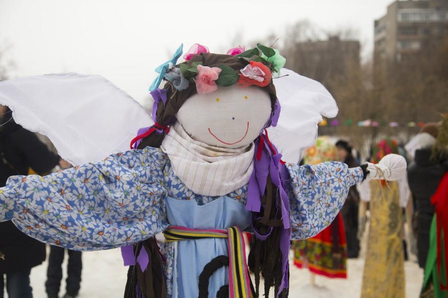Победитель конкурса кукол-Маслениц